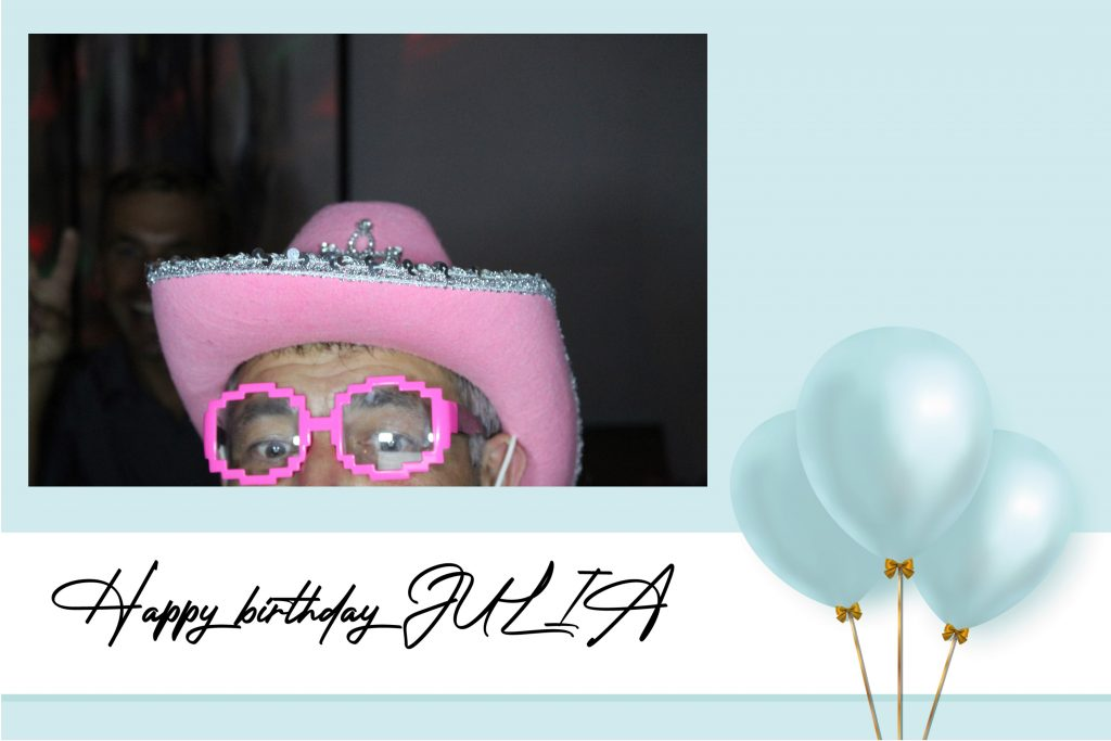 anniversaire photobooth