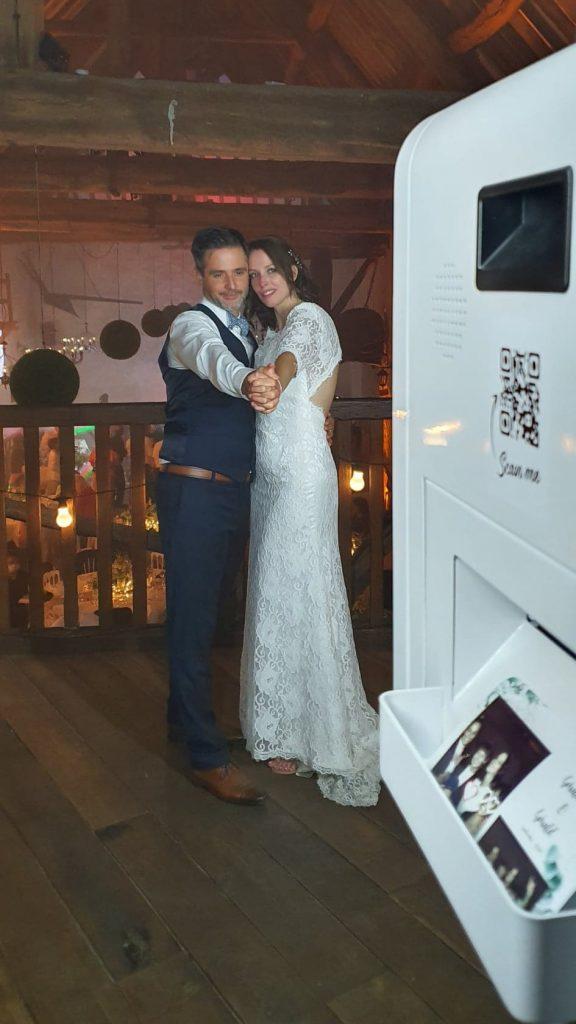 Borne à selfie, wedding, photo, selfie